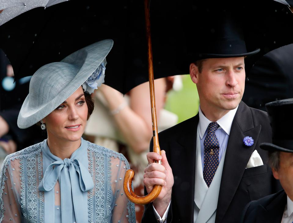 af11491a5 Kate Middleton At Royal Ascot: Radiant Amid Outrageous Hats And ...