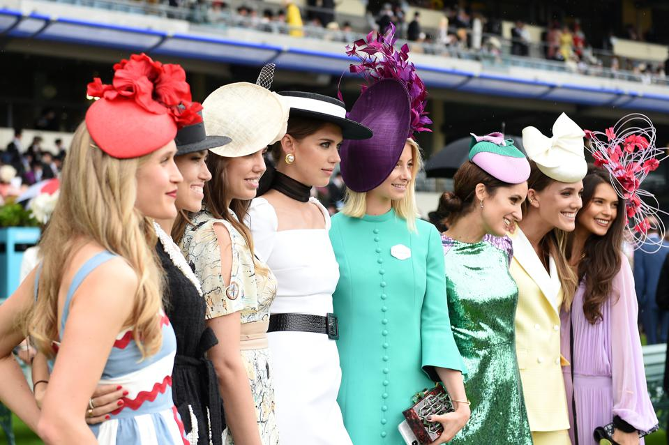 b2ebb5598 Kate Middleton At Royal Ascot: Radiant Amid Outrageous Hats And ...