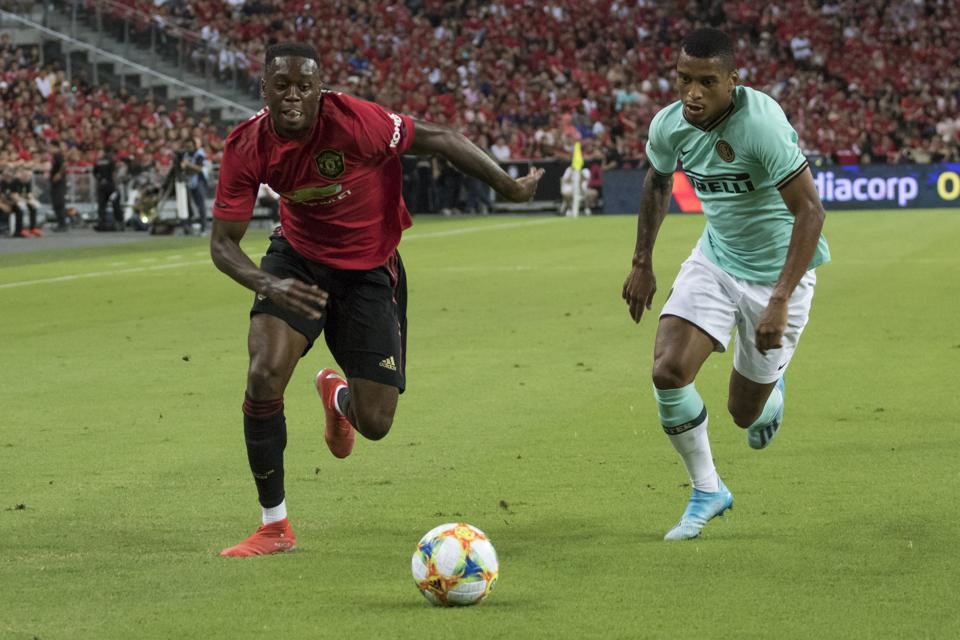 Manchester United International Champions Cup 2020.Aaron Wan Bissaka Manchester United S New Defender Has