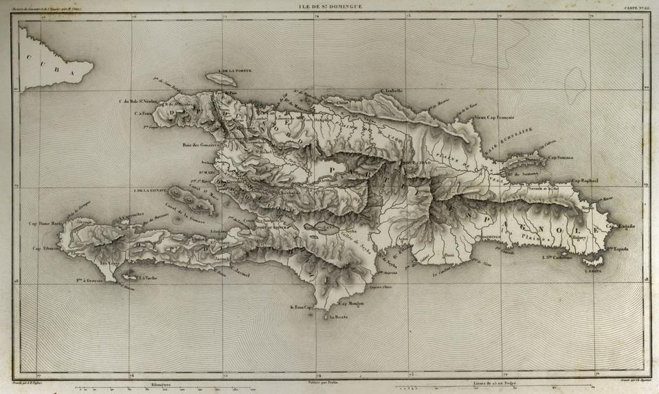 Island of Santo Domingo.