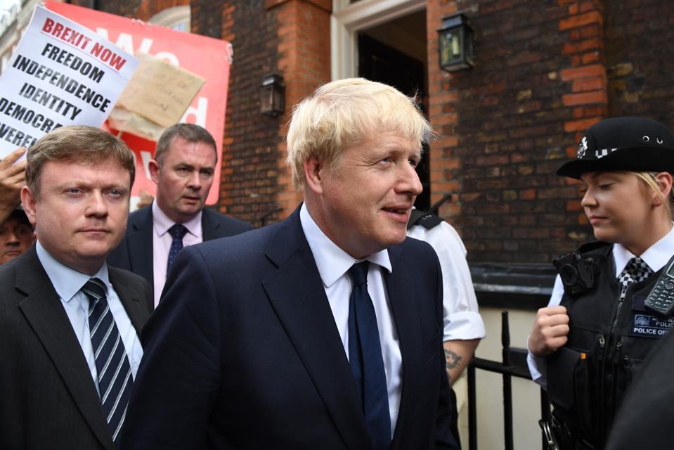 Back Boris Campaign Enters Final Days Of PM Race