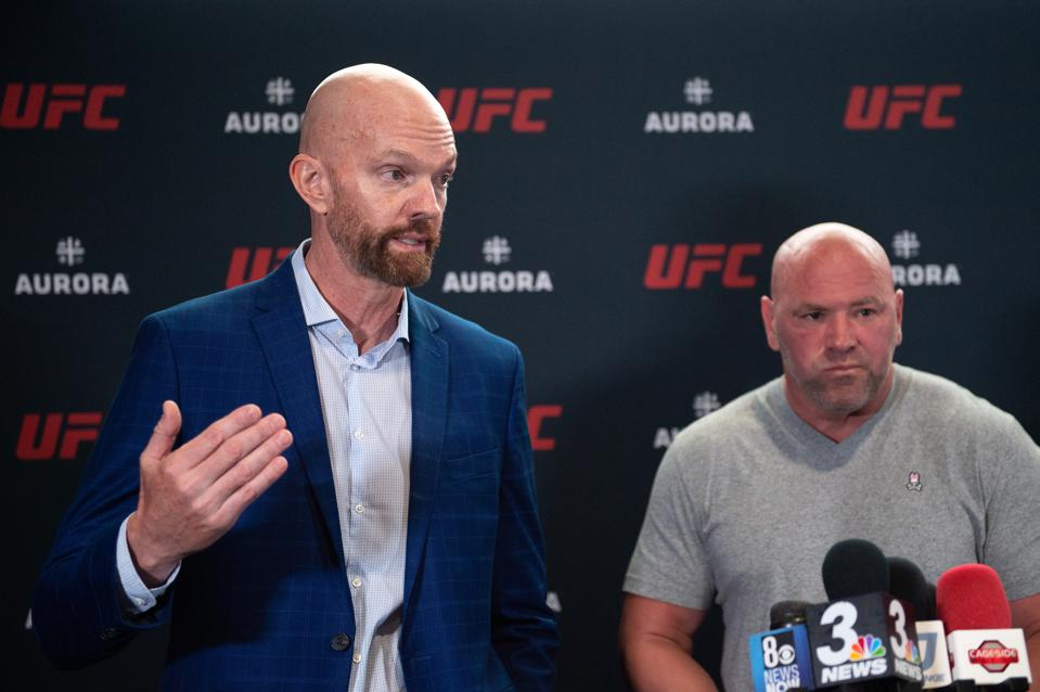 UFC - AURORA Partnership Press Conference