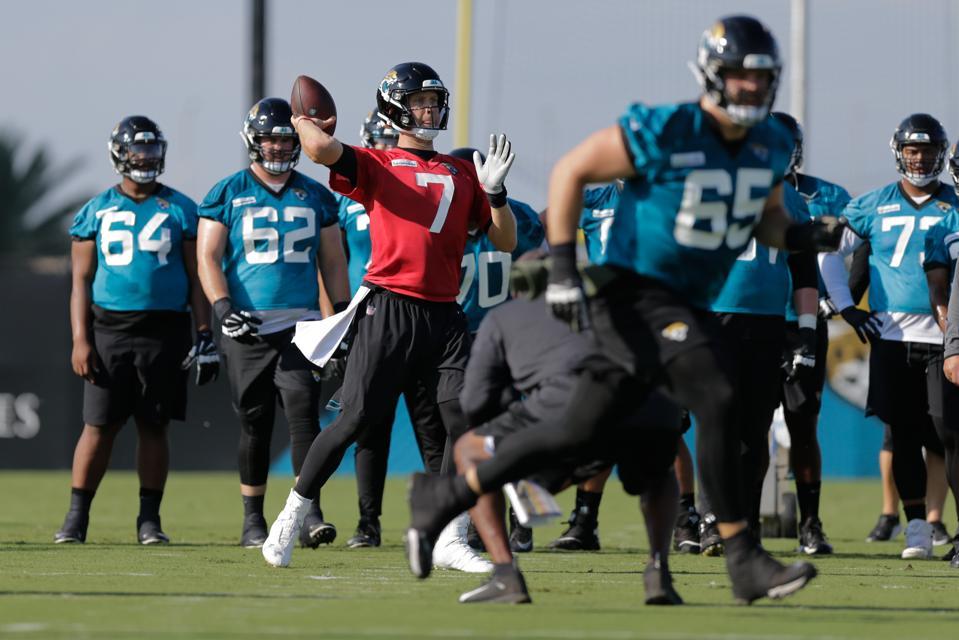NFL: JUL 25 Jaguars Training Camp