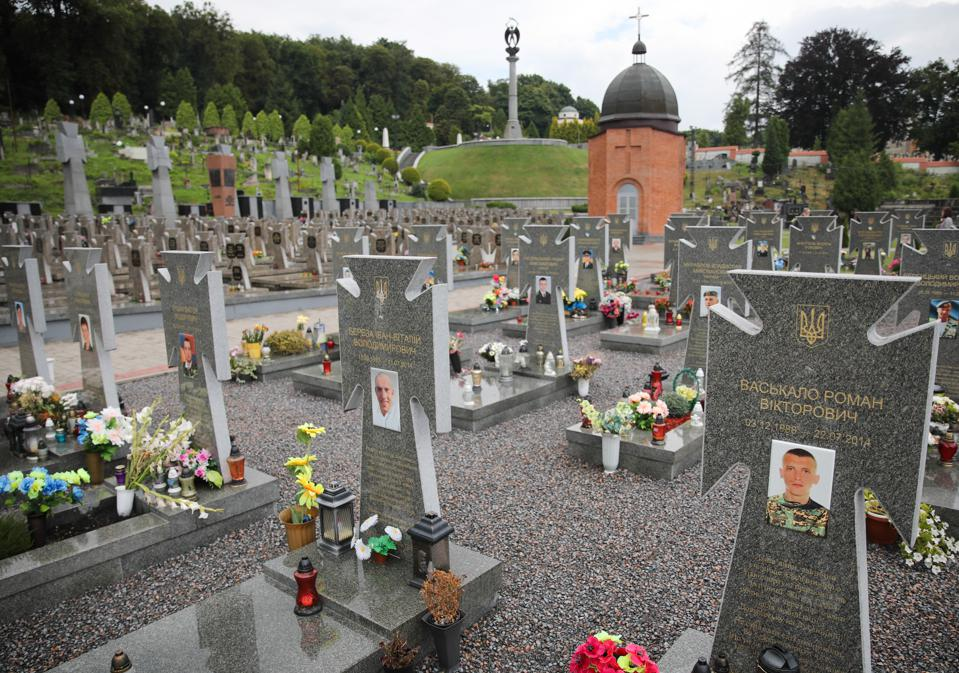 Over 20,000 Ukrainians have died in the war with Russia and over 30,000 have been injured.