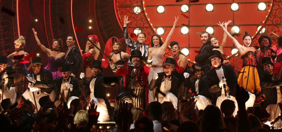 ″Moulin Rouge! The Musical″ Opening Night