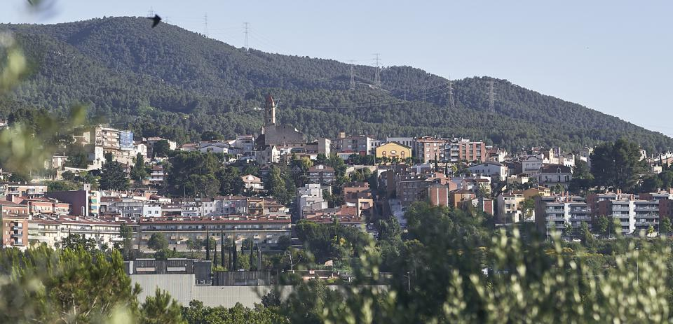 View of Gelida , Catalonia, Spain