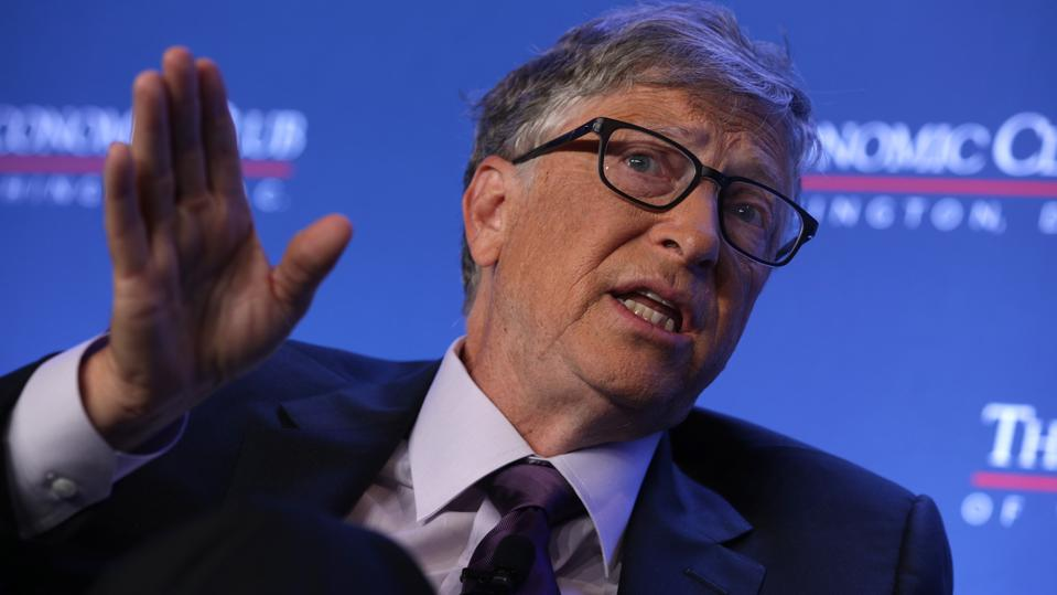 Bill Gates speaks at The Economic Club Of Washington DC.