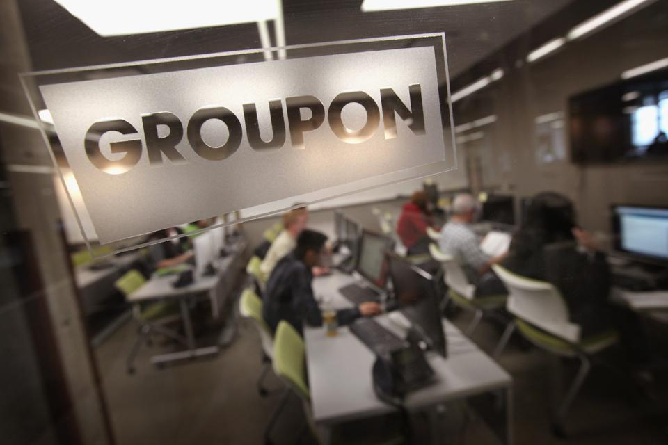 Groupon no longer wants to be in the business of selling physical goods.