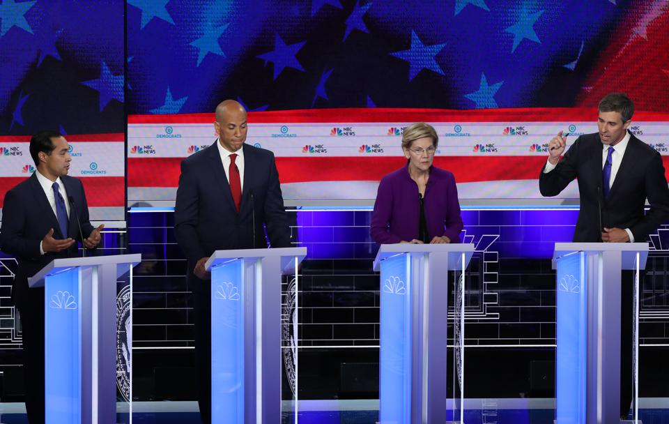 Democratic Presidential Candidates Participate In First Debate Of 2020 Election Over Two Nights