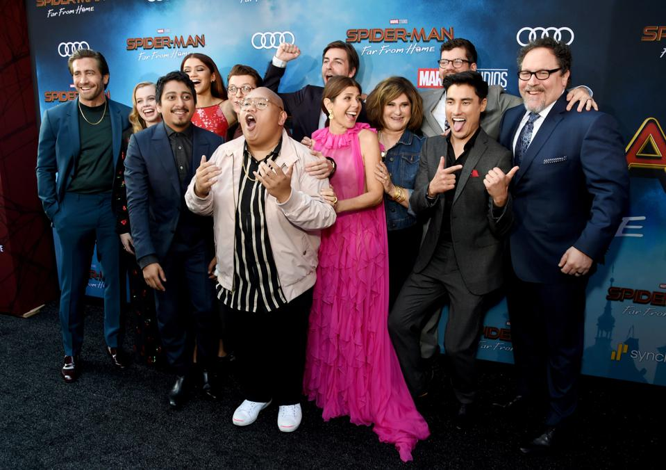 Audi At The World Premiere Of 'Spider-Man: Far From Home'