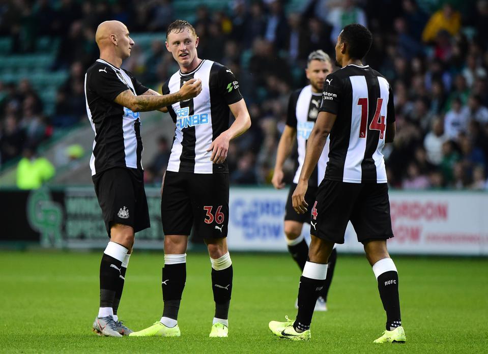 Hibernian v Newcastle - Pre-Season Friendly