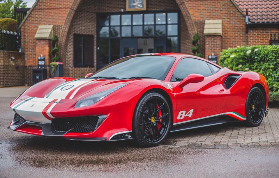 The Ferrari 488 Pista...