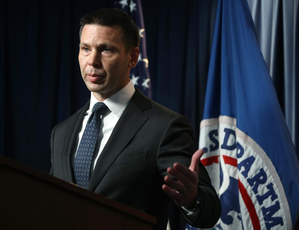 DHS Acting Secretary Kevin McAleenan Holds Press Conference On Supplemental Funding Request For Crisis At The Border