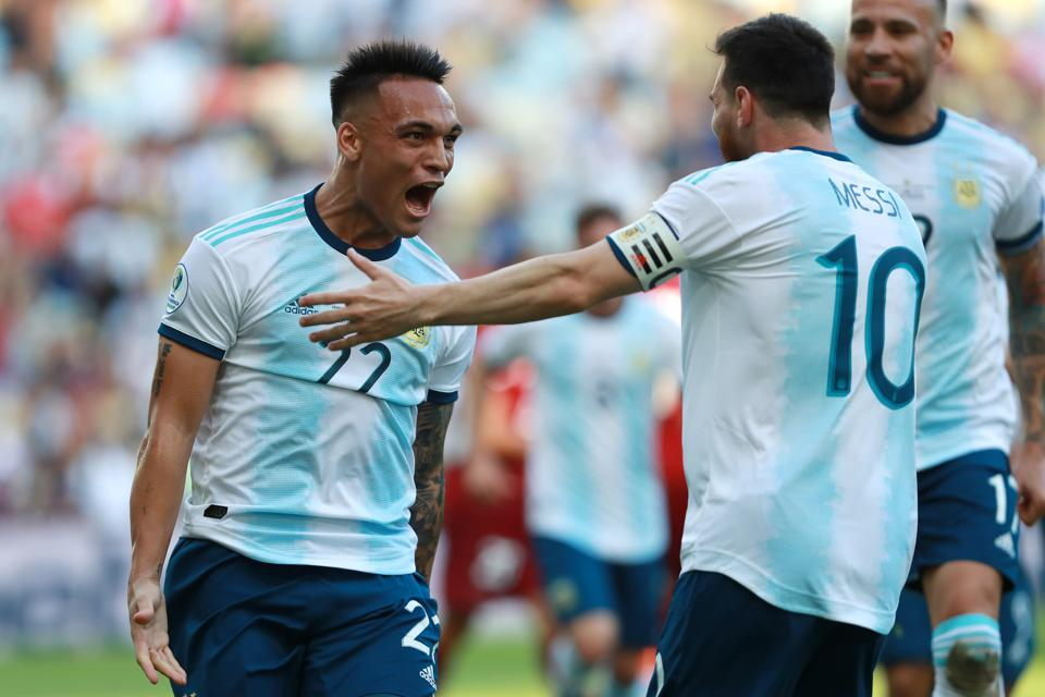 Mixed Signals Abound Over Lautaro Martinez Joining Messi At FC Barcelona, As Aubameyang Also Enters Picture