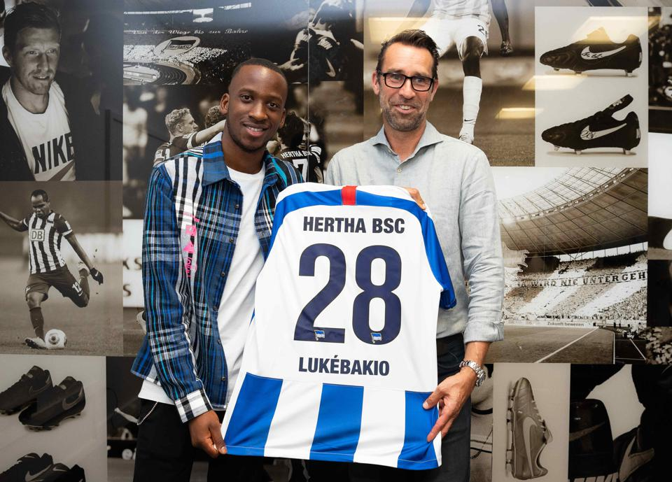 Hertha BSC Unveil New Signing Dodi Lukebakio