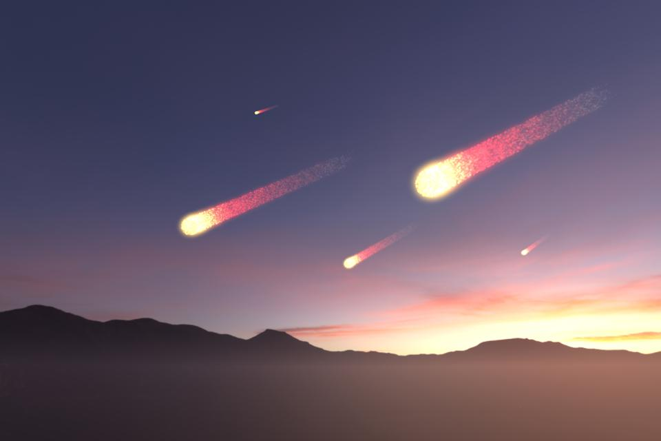 Earth under Asteriod's Attack