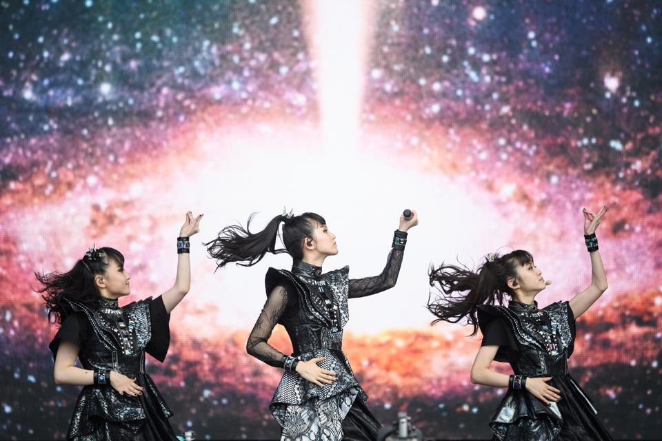 Babymetal Metal Galaxy No. 1 Billboard Top Rock Albums