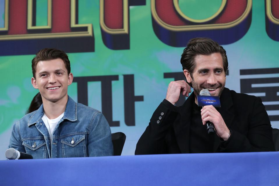 """Spider-Man: Far From Home"" Press Conference In Seoul"
