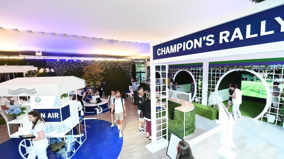 American Express Creates Experiences With New Wimbledon Partnership