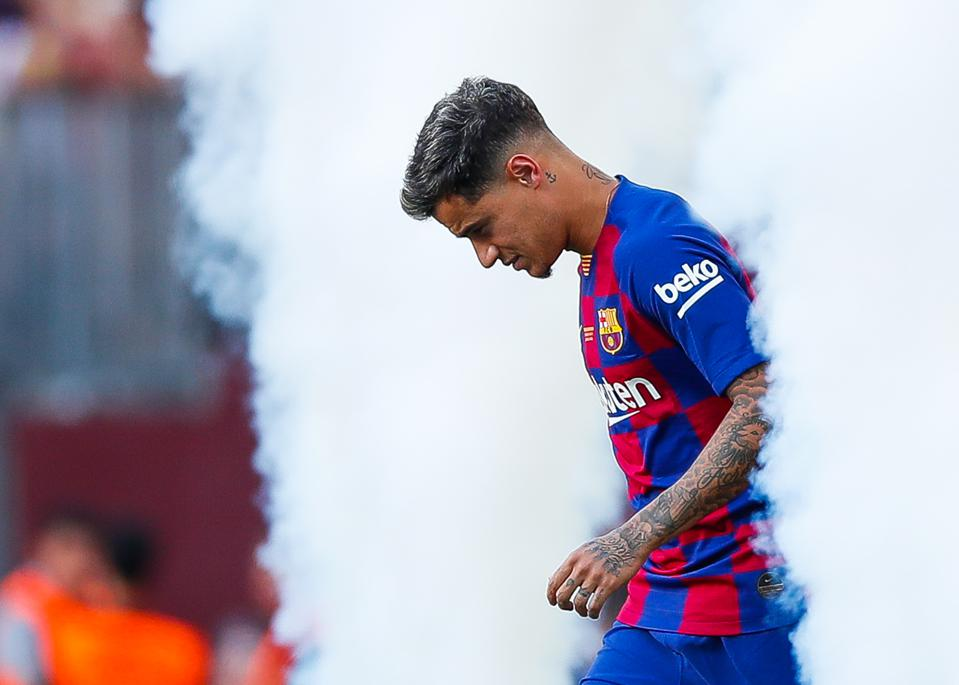 Philippe Coutinho is unlikely to ever play for FC Barcelona again