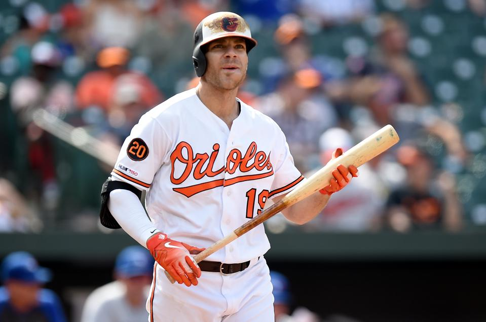 quality design e918c 34561 It's Official: Chris Davis Will Not Play Much For Orioles In ...
