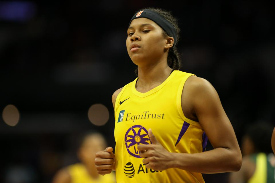 WNBA: AUG 04 Seattle Storm at Los Angeles Sparks