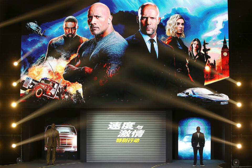 Box Office: 'Hobbs & Shaw' Petering Out After Failing To Top $100,000