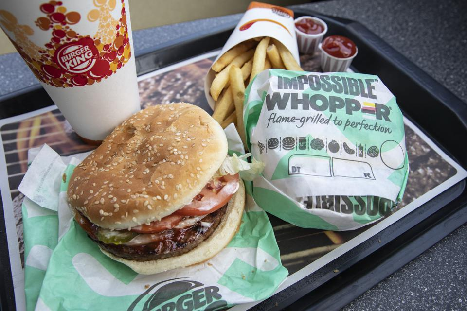 The success of the Impossible Whopper spurred burger King to add more plant-based items.