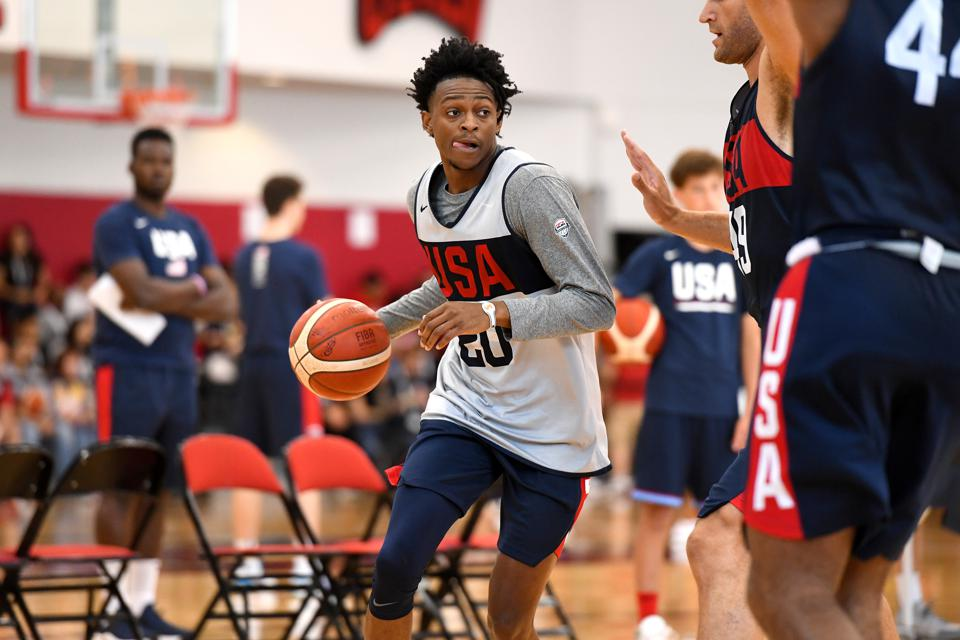 2019 USA Basketball Men's National Team Training Camp - Las Vegas