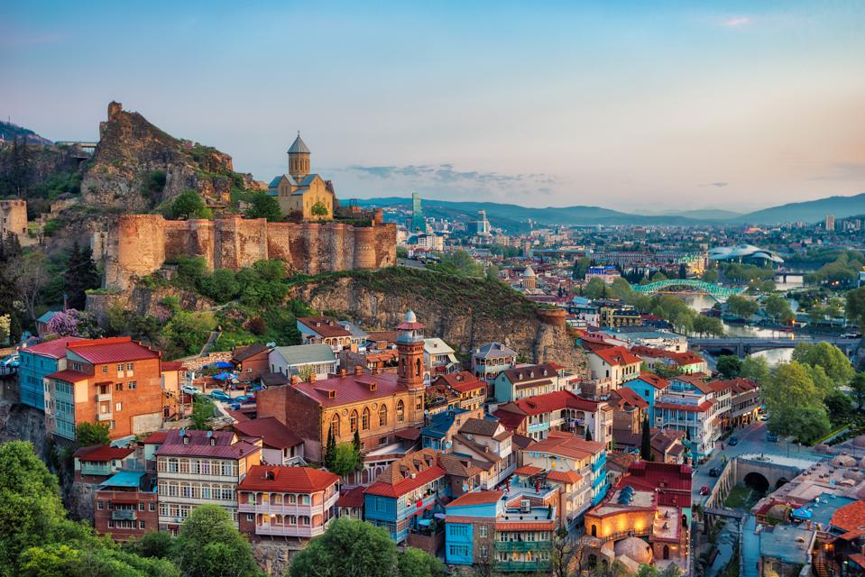Tbilisi Downtown, Georgia, taken in April 2019