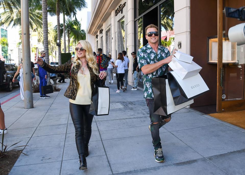 Celebrity Sightings In Los Angeles - August 09, 2019
