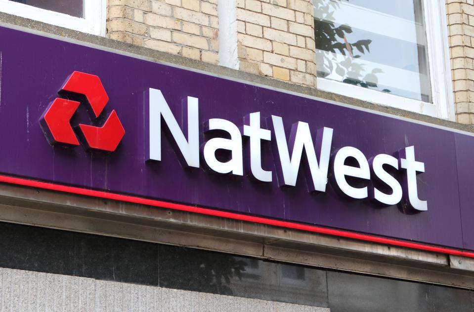 Natwest bank seen on the high street in Devon...
