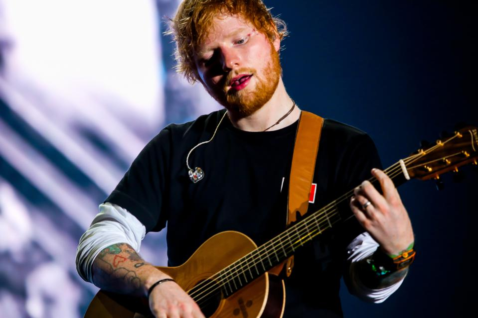 Edward Christopher Sheeran, English singer, songwriter,...