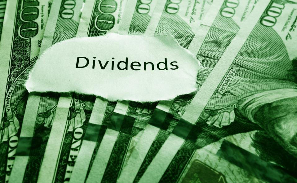 Dividends on cash