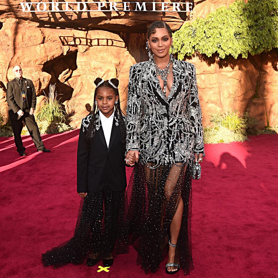 Beyoncé And Jay-Z's Daughter Blue Ivy Makes History With Her First Hot 100 Hit