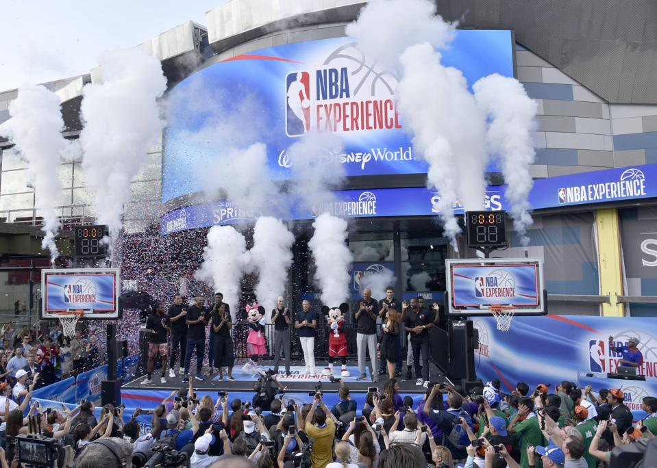 NBA Experience Grand Opening