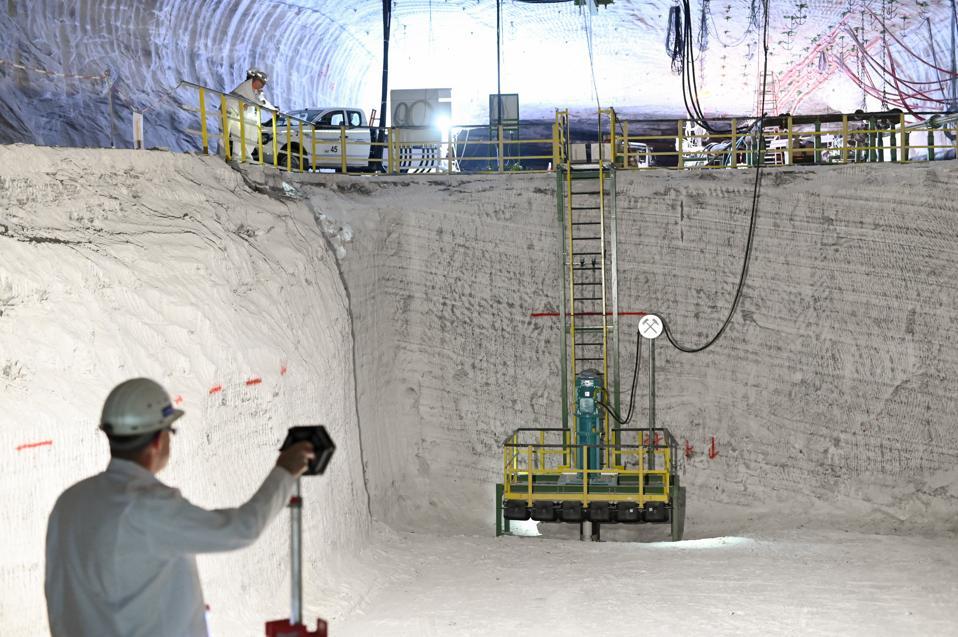 Underground storage for K+S
