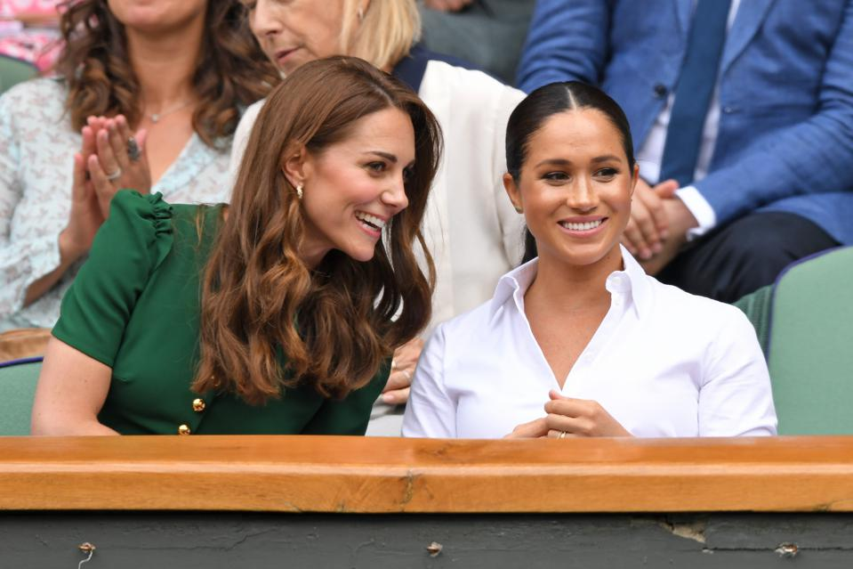 Kate Middleton Meghan Markle Wimbledon 2019