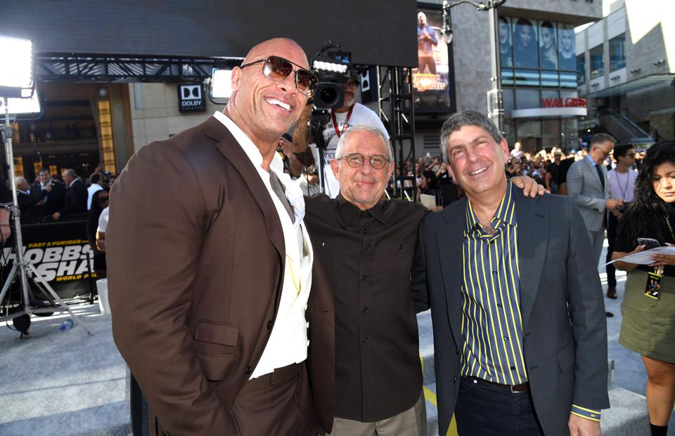 Premiere Of Universal Pictures' ″Fast & Furious Presents: Hobbs & Shaw″ - Red Carpet