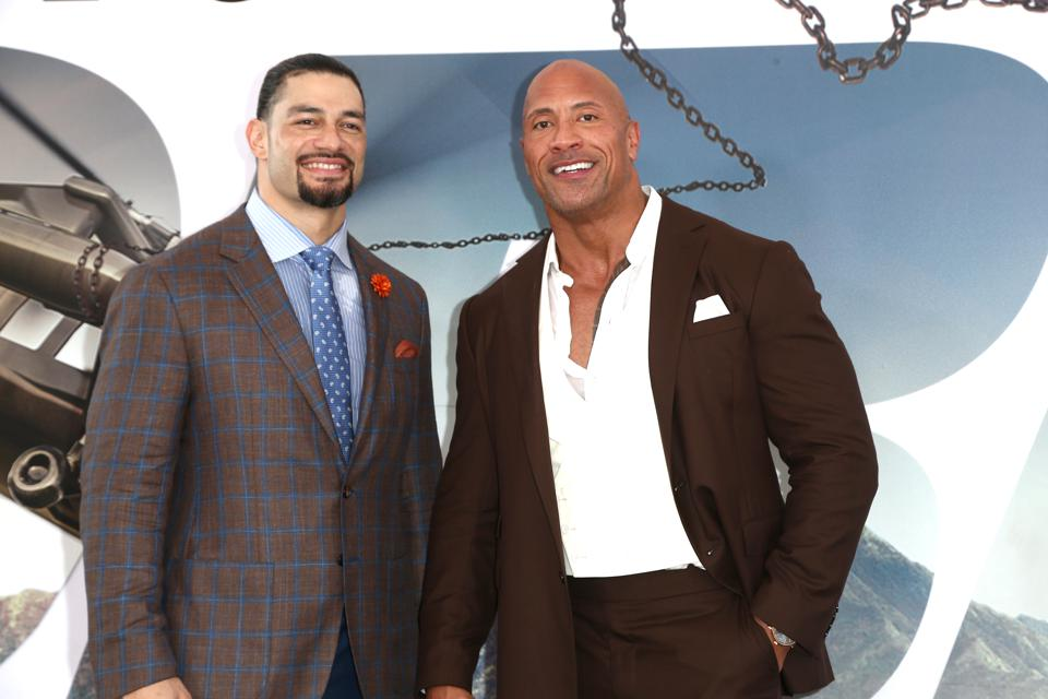 Roman Reigns hinted that if there was ever a WrestleMania to face The Rock, this would be it.