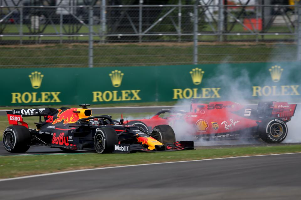F1's stock price has crashed following the coronavirus outbreak (Charles Coates/Getty Images)