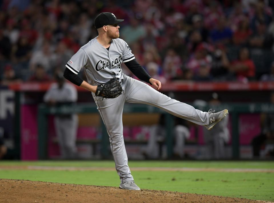 MLB: AUG 16 White Sox at Angels