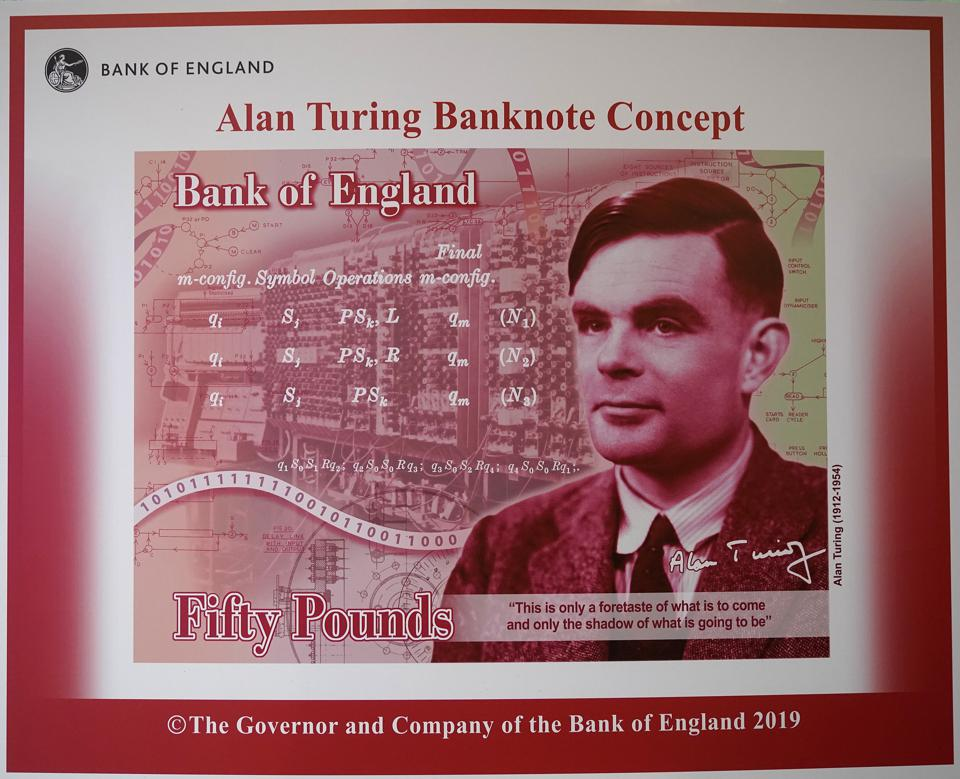 Alan Turing To Be Face Of UK's New £50 Note