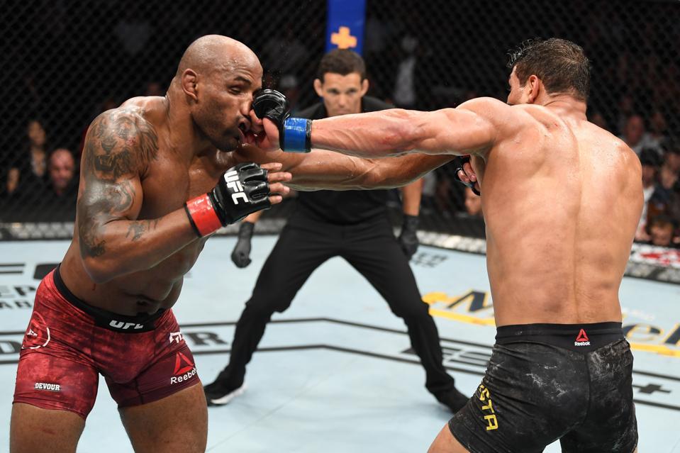 UFC 241: Romero v Costa