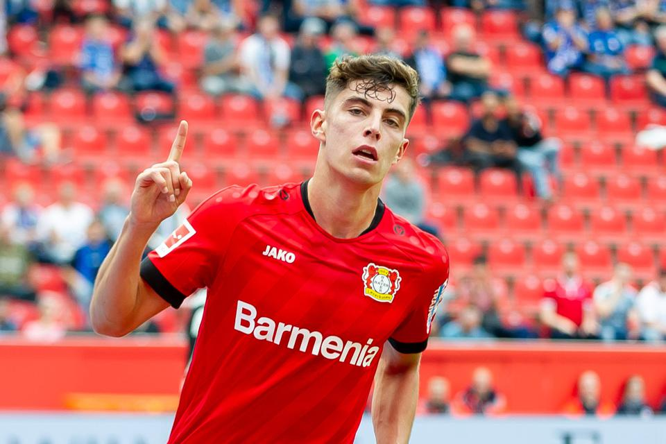 Bayer Leverkusen's 'Golden Boy' Kai Havertz Key To Bundesliga Battle At Eintracht Frankfurt