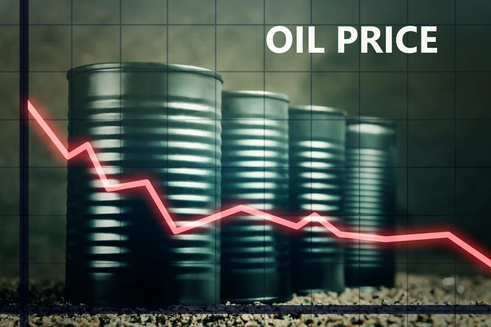 Oil prices have fallen markedly due to Coronavirus