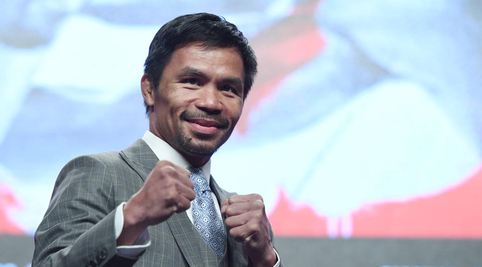 Manny Pacquiao v Keith Thurman - News Conference