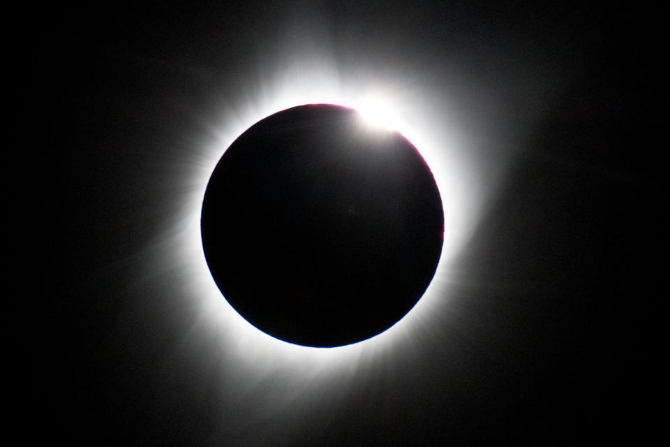 Total Solar Eclipse, 2017, Grand Tetons National Park , Teton County, Wyoming