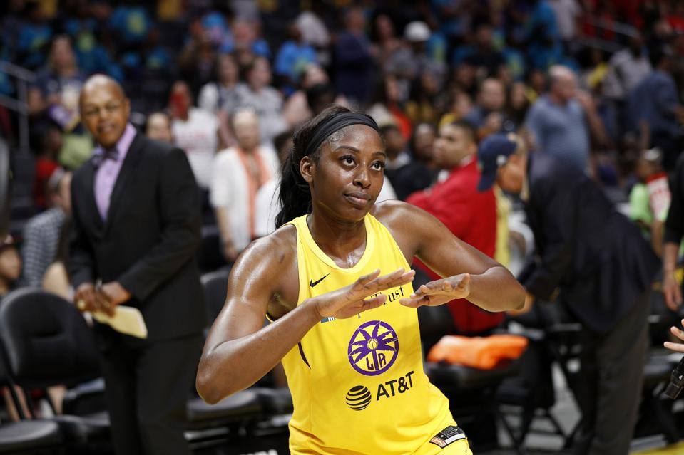Chiney Ogwumike Is Ready To Let Her Hair Down On New Spotify Podcast 'Certified Buckets'