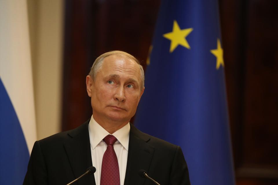 Russian President Vladimir Putin visits Finland